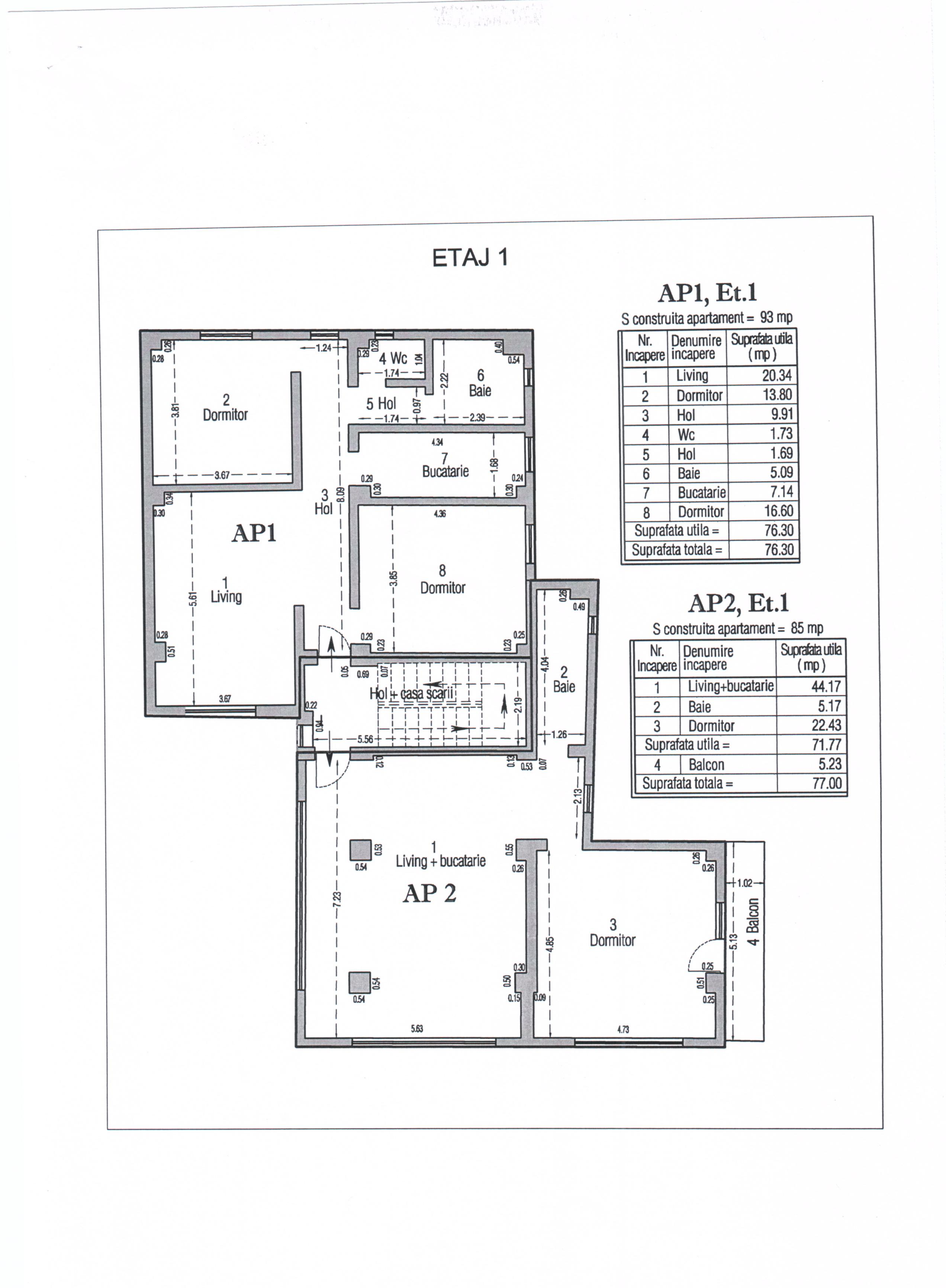 Apartamente noi Titu-Central